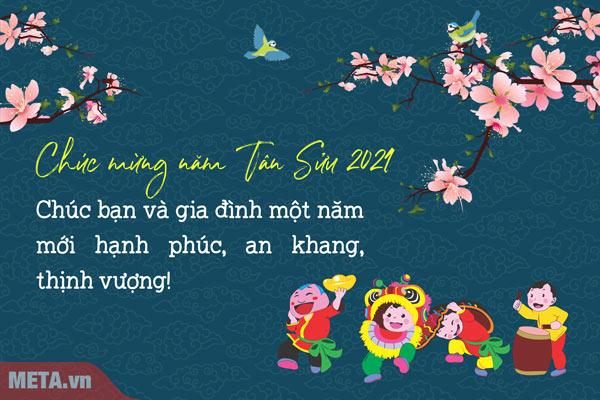 Thiệp chúc mừng năm mới 1