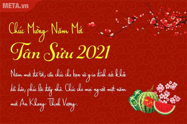 Thiệp chúc mừng năm mới 6