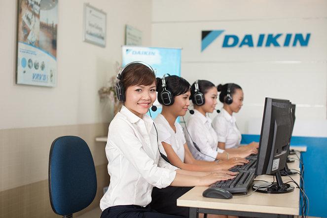 Hotline trung tâm bảo hành của Daikin 1800 6777