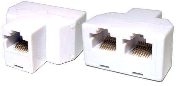 Ethernet splitter chia một kết nối Ethernet đơn lẻ thành hai kết nối riêng biệt