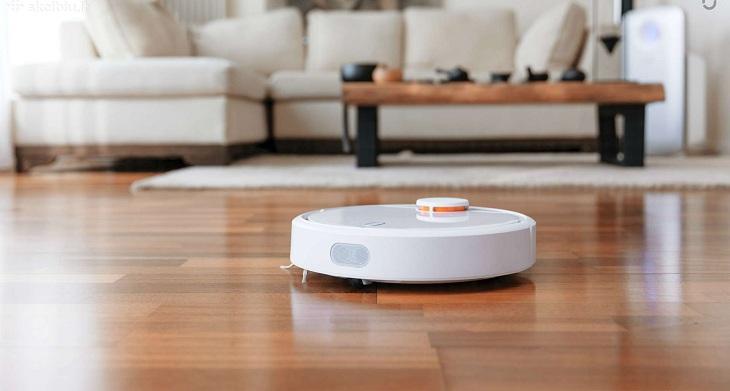Robot hút bụi cho nhà chung cư tầng thấp và nhà trong ngõ