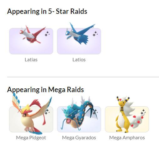 sự kiện pokemon go 2021