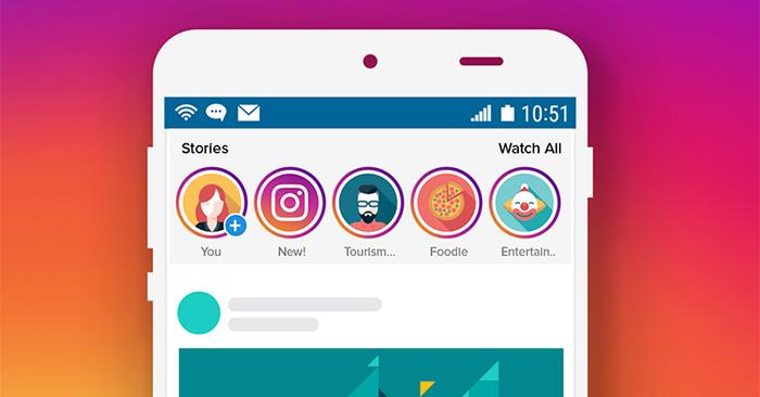 Cách tạo hiệu ứng chữ chạy trên Story Instagram