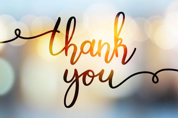 Lời cảm ơn hay