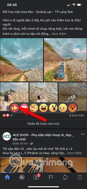 Cách bật nút Like đỏ trên Facebook đón Tết Tân Sửu - Ảnh minh hoạ 2