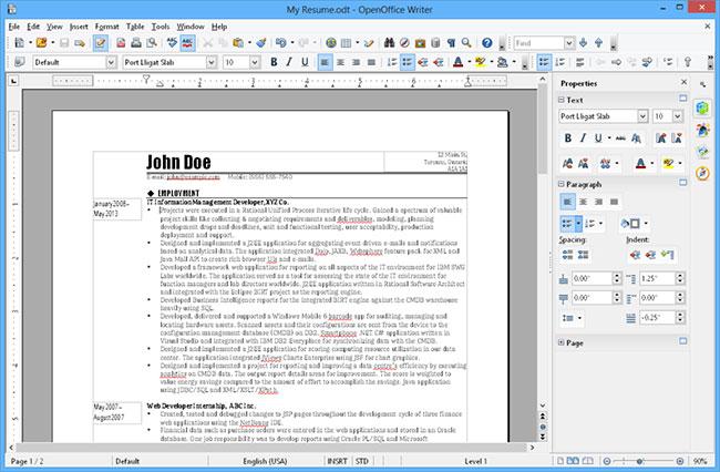 Apache OpenOffice 4.1.8: Bộ công cụ Office mã nguồn mở, miễn phí - Ảnh minh hoạ 3