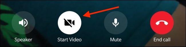 """Nhấn vào nút """"Start Video"""""""