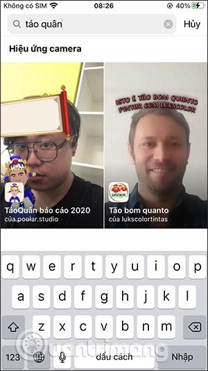 Cách tải hiệu ứng Táo quân báo cáo 2020 trên Facebook, Instagram - Ảnh minh hoạ 11
