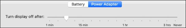 "Tab ""Power Adapter"""