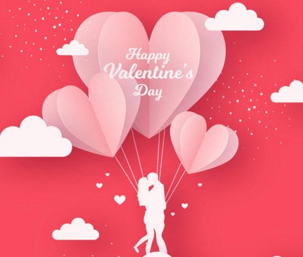 Tấm thiệp Valentine hoàn hảo để gửi tặng người ấy của mình qua Facebook, zalo