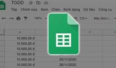 Cách thay đổi kích thước cột và hàng trong Google sheets
