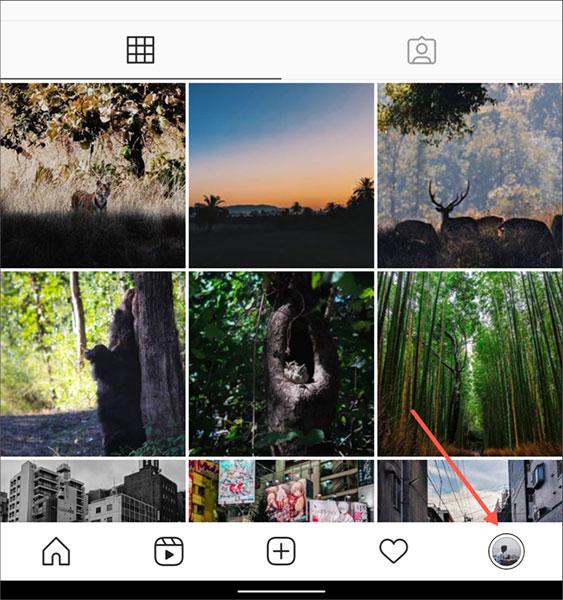 Cách xem danh sách tất cả các liên kết (đường link) bạn đã truy cập trên Instagram