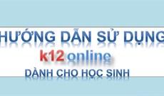 Cách học online trên K12Online