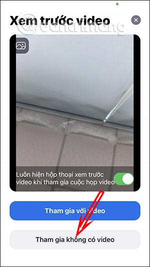 Không sử dụng video