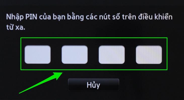 Nhập mã PIN