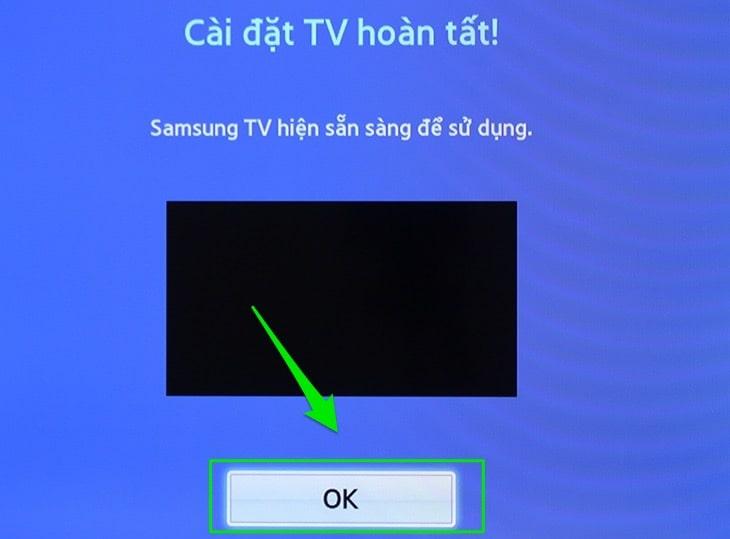 Dò kênh cho tivi