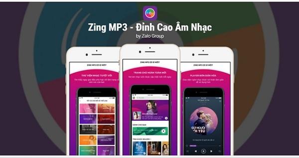 Zing MP3 là ứng dụng nghe nhạc miễn phí hàng đầu Việt Nam