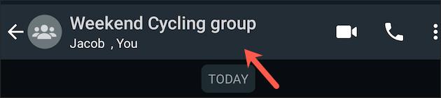 Tùy chỉnh nhóm