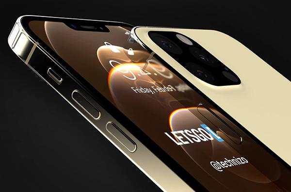 Thiết kế iPhone 13 của Letsgodigital
