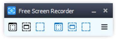 Free Screen Recorder là trình ghi màn hình dành cho PC