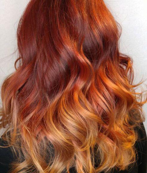 Ombre, màu tóc đẹp cho da ngăm