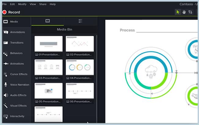 Camtasia là một trong những phần mềm chỉnh sửa video mạnh mẽ nhất dành cho máy tính Windows