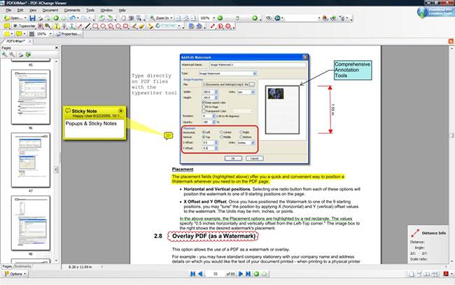 PDF-XChange Viewer là một trong những trình đọc PDF tốt nhất hiện nay