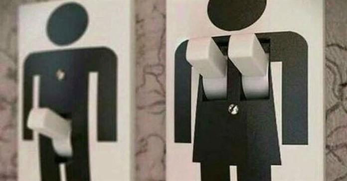 Những biển toilet siêu buồn cười cho thấy óc sáng tạo và hài hước của con người là bất tận!
