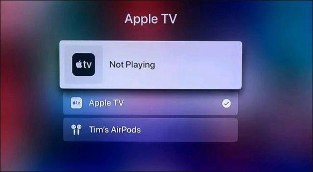 Kết nối qua Apple ID