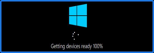 Thông báo Getting Devices ready