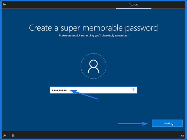 Tạo một mật khẩu siêu dễ nhớ cho User Account