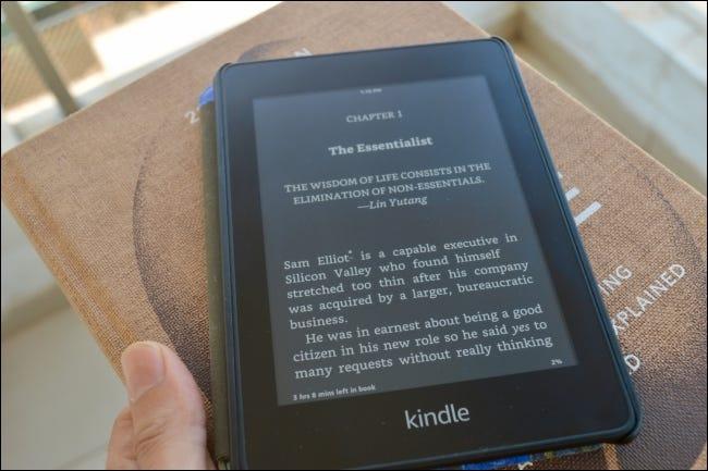 Kindle sẽ đảo ngược màu đơn sắc của màn hình