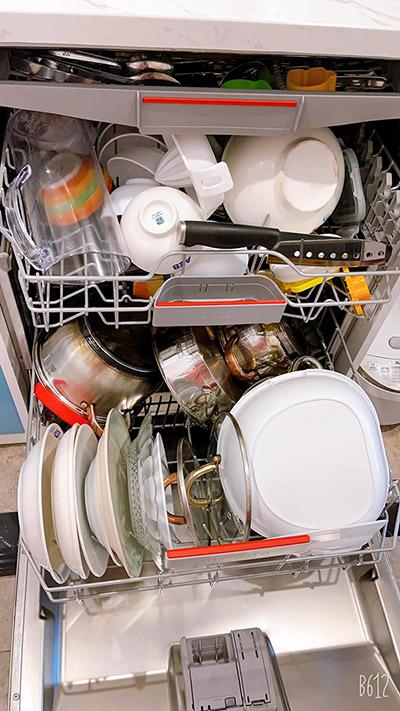 Cách xếp bát trong máy rửa bát tối ưu 4