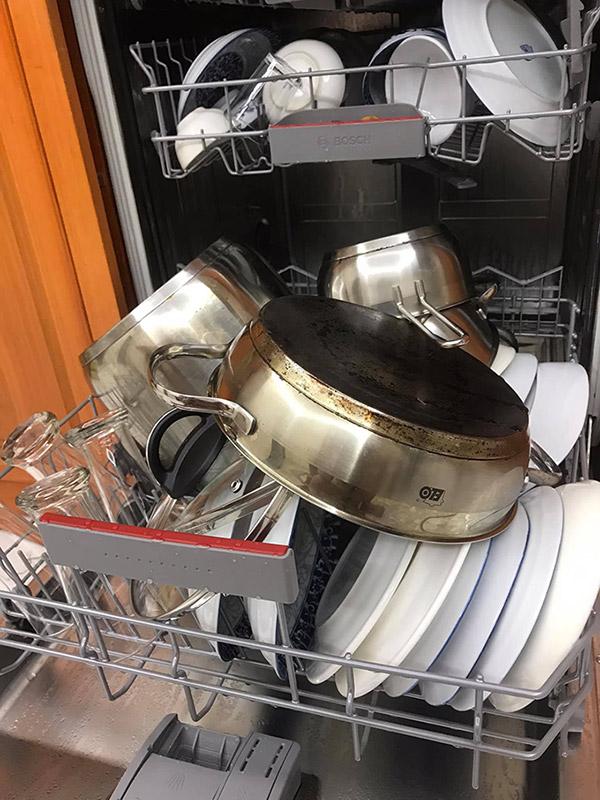 Cách xếp bát trong máy rửa bát tối ưu 7