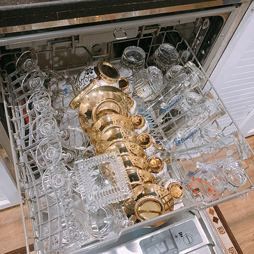 Cách xếp được nhiều bát trong máy rửa bát 3