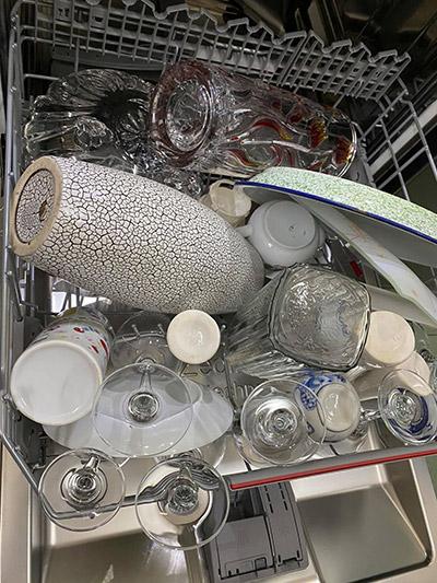 Cách xếp được nhiều bát trong máy rửa bát 5