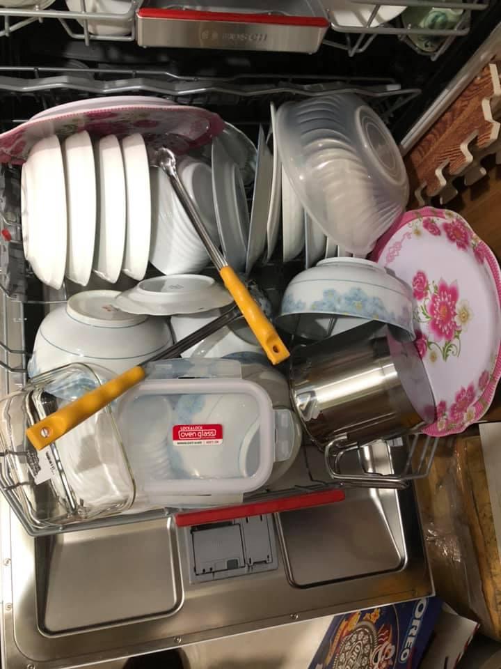 Cách xếp bát trong máy rửa bát 5