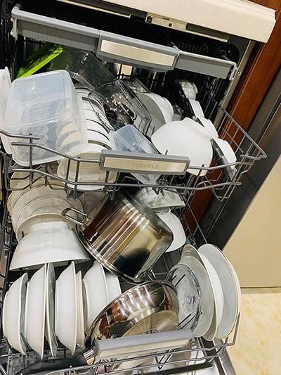 Cách xếp bát trong máy rửa bát 8