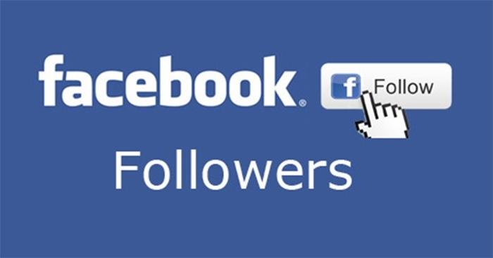 Cách bật nút theo dõi trên Facebook