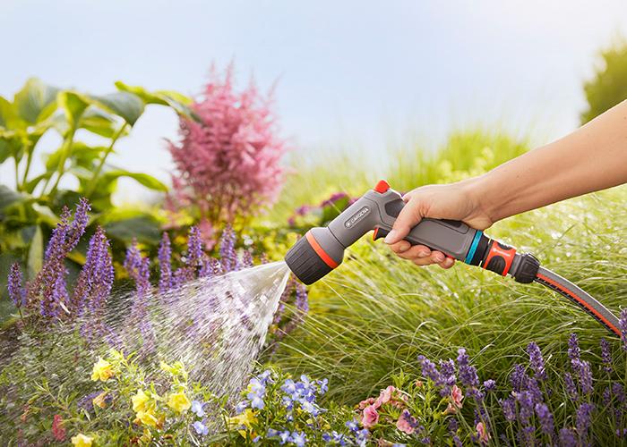 Tưới nước đúng cách cho khu vườn