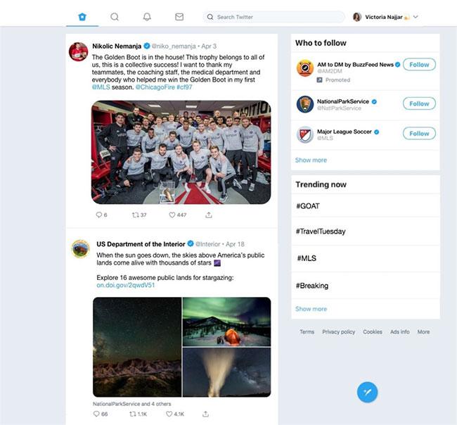 Ứng dụng Twitter dành cho Windows