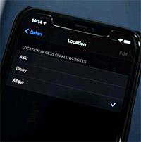 Cách chặn trang web truy cập camera, micro và vị trí trong Safari cho iOS