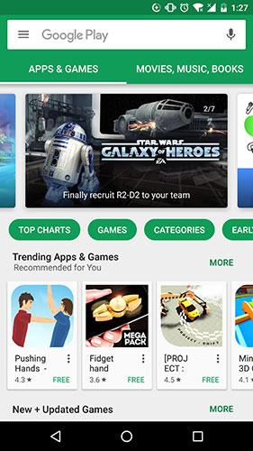 Google Play cung cấp hàng triệu ứng dụng, âm nhạc, game và hơn thế nữa!