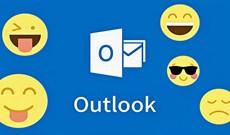 Cách sử dụng emoji trên email Outlook