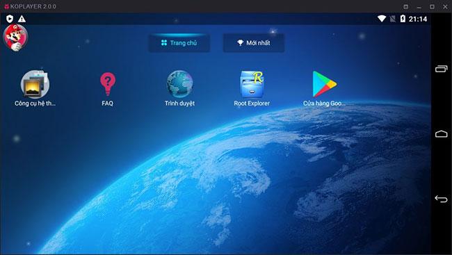 KoPlayer là một trong những trình giả lập Android tốt nhất cho PC