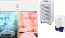 So sánh máy hút ẩm và điều hòa không khí (chế độ làm khô)? Có nên mua máy hút ẩm không?