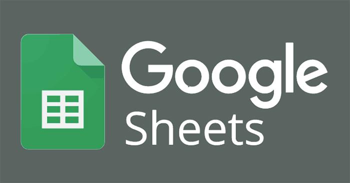 Cách ẩn đường lưới trong Google Sheets
