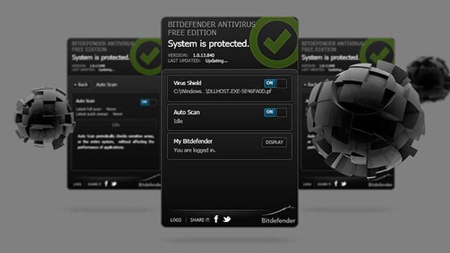 BitDefender Free Antivirus là chương trình diệt virus mang đến khả năng bảo vệ tối ưu cho máy tính