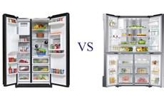 Tủ lạnh side by side là gì? Phân biệt tủ lạnh side by side với tủ lạnh nhiều cửa multidoor