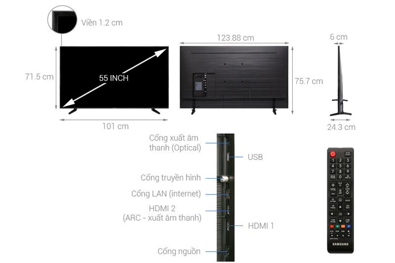 Smart Tivi Samsung 55 inch 4K UHD UA55NU7090KXXV